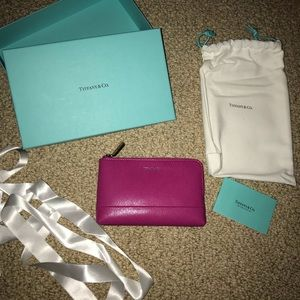 Authentic Tiffany and co wallet